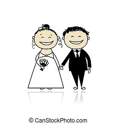 szambelan królewski, twój, ślub, -, ceremonia, razem, ...