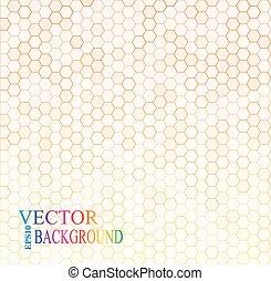 szary, illustration., hex, seamless, struktura, wektor, grid.