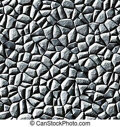 szary, kamień, seamless, struktura