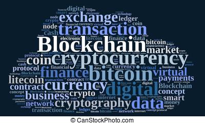 szavak, felhő, noha, blockchain
