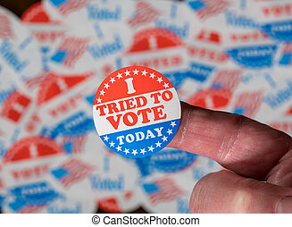 szavaz, böllér, kinyerés, kipróbált, probléma, tapogat, ...