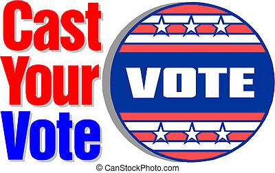 szavaz, szereposztás, -e