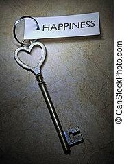 szczęście, klucz