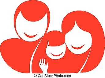 szczęśliwa rodzina, sylwetka