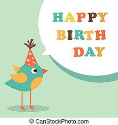 szczęśliwe urodziny, karta