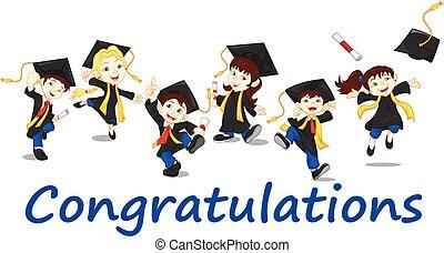 szczęśliwy, absolwenci