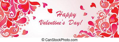 szczęśliwy, day!, valentine