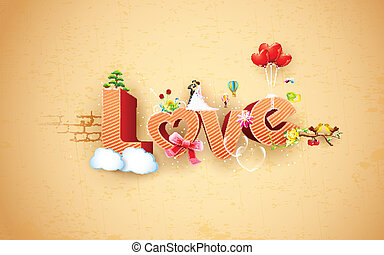 szczęśliwy, dzień, valentine