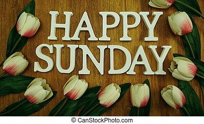 szczęśliwy, niedziela