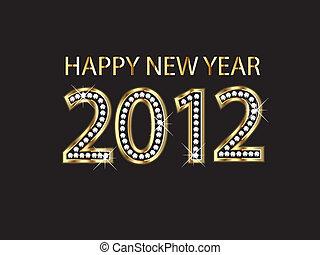 szczęśliwy nowy rok, 2012