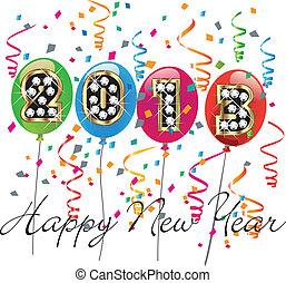 szczęśliwy nowy rok, 2013