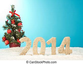 szczęśliwy nowy rok, 2014