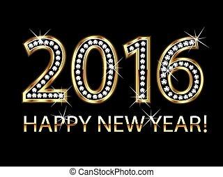 szczęśliwy nowy rok, 2016
