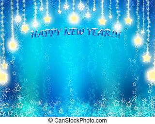 szczęśliwy nowy rok, tło