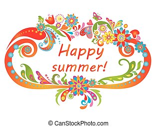 szczęśliwy, summer!