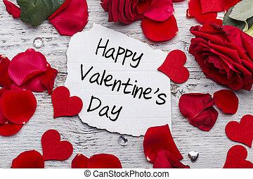 szczęśliwy, valentines dzień