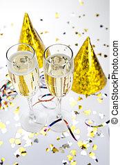 szczęśliwy, zbiór, nowy rok