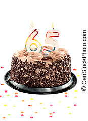 sześćdziesiąt, piąte urodziny, albo, rocznica