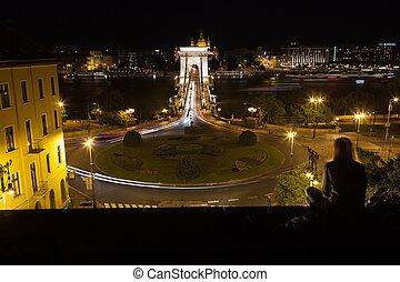 szechenyi, cadena el puente, budapest