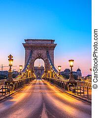 Szechenyi Chain Bridge, Budapest