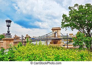 Szechenyi Chain Bridge-one of the most beautiful bridges of...