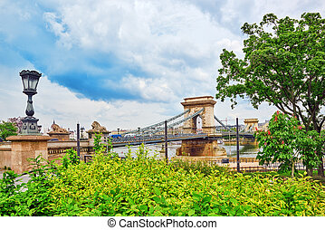 Szechenyi Chain Bridge-one of the most beautiful bridges of...