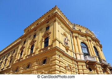 Szeged National Theater - Szeged, Hungary - National Theater...