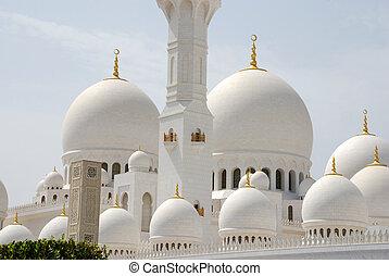 szejk, zayed, meczet, wielki