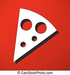 szelet, pizza