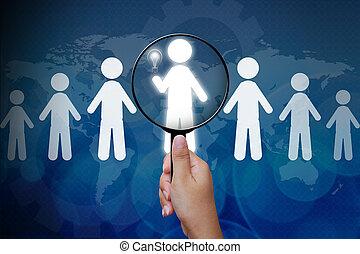 személy, helyes, csoport, eldöntés