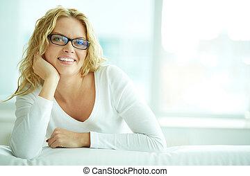 szemüveg, női