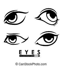 szem, ikon