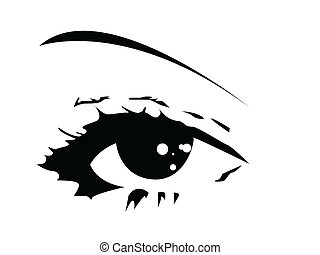 szem, vektor