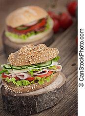 szendvics, finom