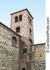 szent, dimitrios, templom, közül, thessalon