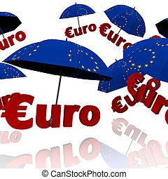 szerető, bailout, euro