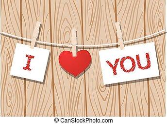 szeret, üzenet