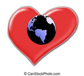 szeret, földdel feltölt