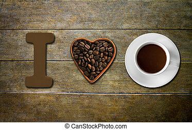 szeret, kávécserje