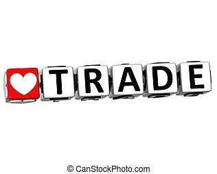 szeret, tömb, csattant, szöveg, gombol, kereskedelem, 3, itt