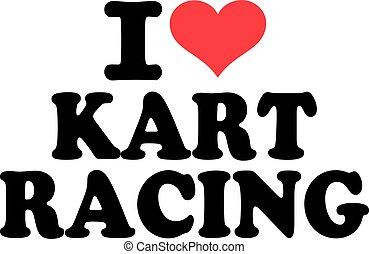 szeret, versenyzés, kart