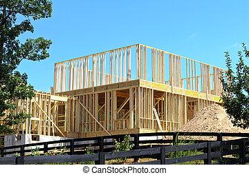 szerkesztés, épület, új