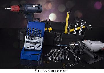 szerkesztés, eszközök, épület, helyreállítás, fogalom
