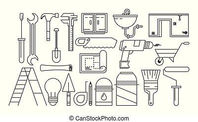 szerkesztés, eszközök, karikatúrák