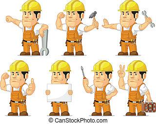 szerkesztés munkás, erős, mascot11