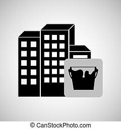 szerkesztés, reapir, épület, festmény, ikon, tervezés