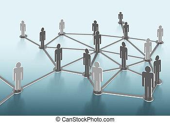 szerkezet, hálózat, társadalmi