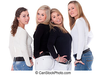 Szexi meztelen tizenéves lányok