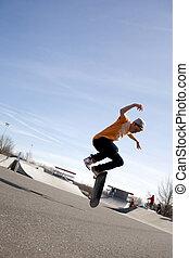 szivárog, skateboarding