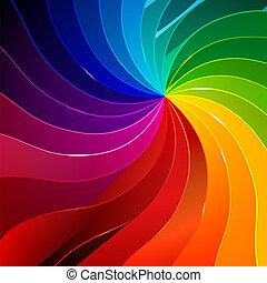 szivárvány, könyv, háttér, színes, apródok